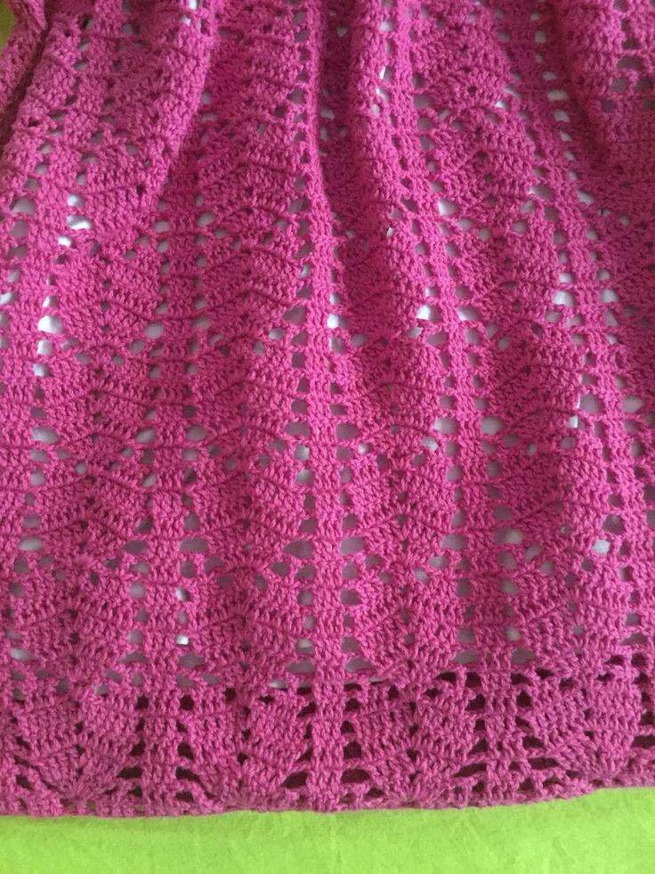 Crochet blouse.