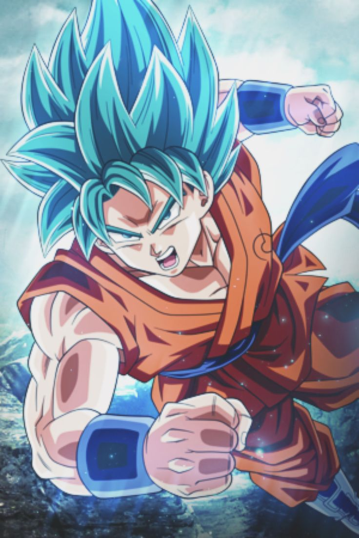 Goku SSJ God by zYuuCL on @DeviantArt