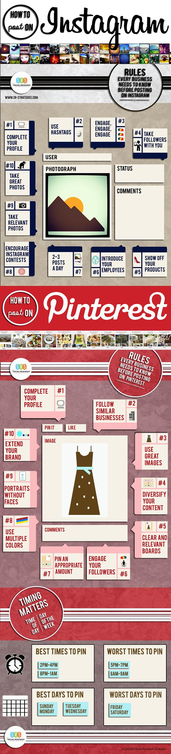 20 Rules Every Business Needs to Know Before Posting on Instagram and Pinterest
