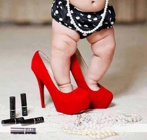 1000  images about Little Girls & Mommy's High Heel Shoes on ...