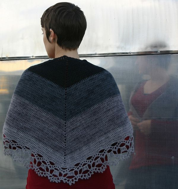 The 108 Best Shawls Wraps Images On Pinterest Knitting Patterns