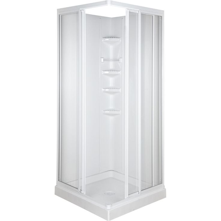 small corner shower kit. Shop ASB High Gloss White Impact Polystyrene Square 3 Piece Corner  Shower Kit Best 25 shower kits ideas on Pinterest showers