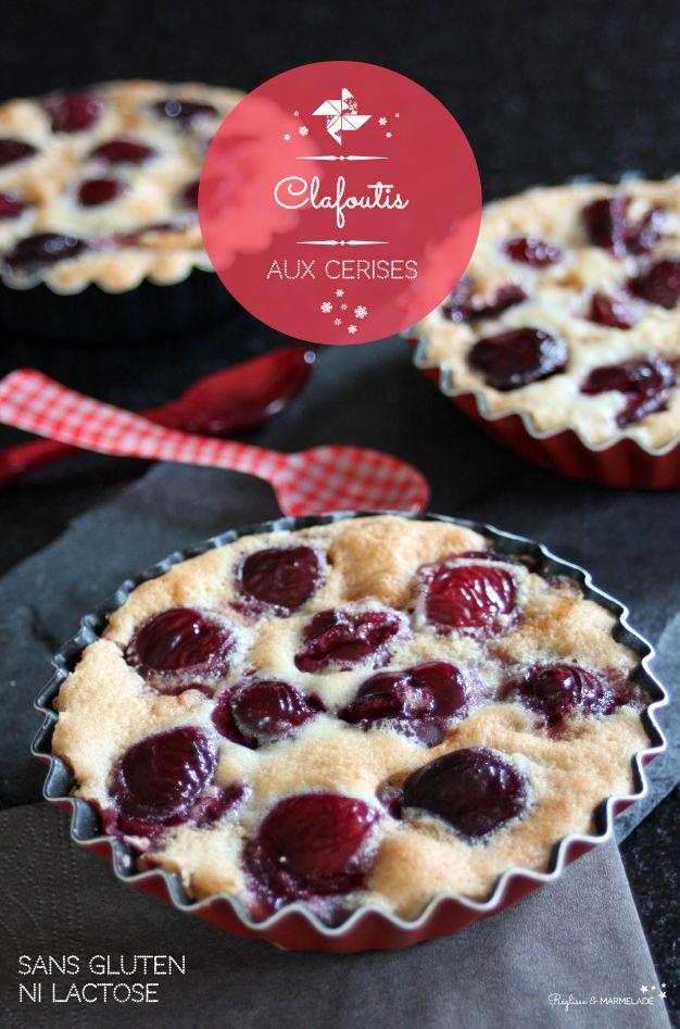 Clafoutis aux cerises sans gluten ni lait. ©reglisseetmarmelade2014