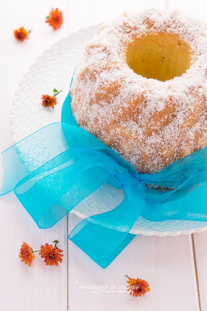 Bundt cake al cocco e anancia