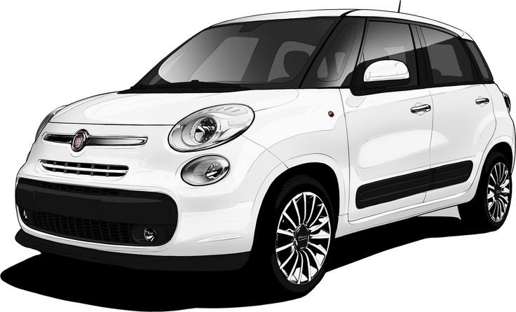 Fiat 500L, interni e Centro Stile Fiat  -