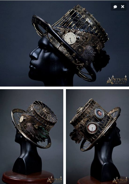 Steampunk Tendencies | Steampunk Hat by Atherwerk #Craft #Design #Steampunk