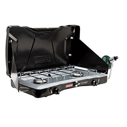 Portable Camping Gas Stove 2 Burner Tailgate Propane Backpacking Cooking Large   #Coleman