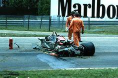 Gilles Villeneuve su Ferrari 126C2 GP Belgio Zolder 1982