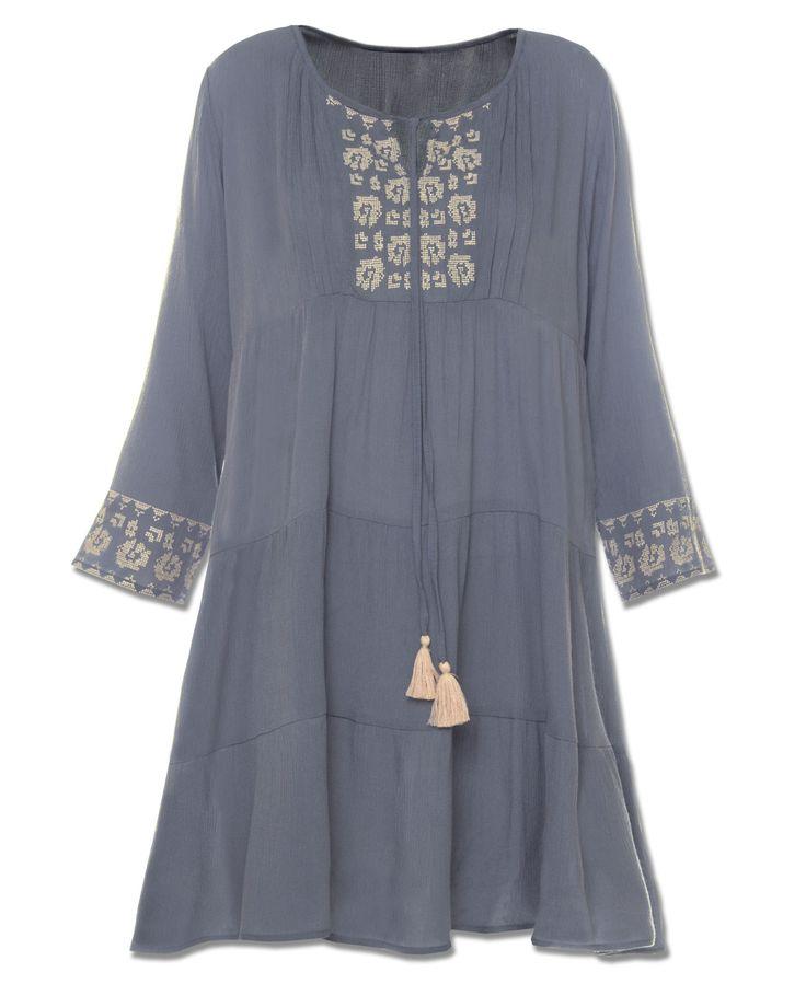 Tiered Kurta Dress