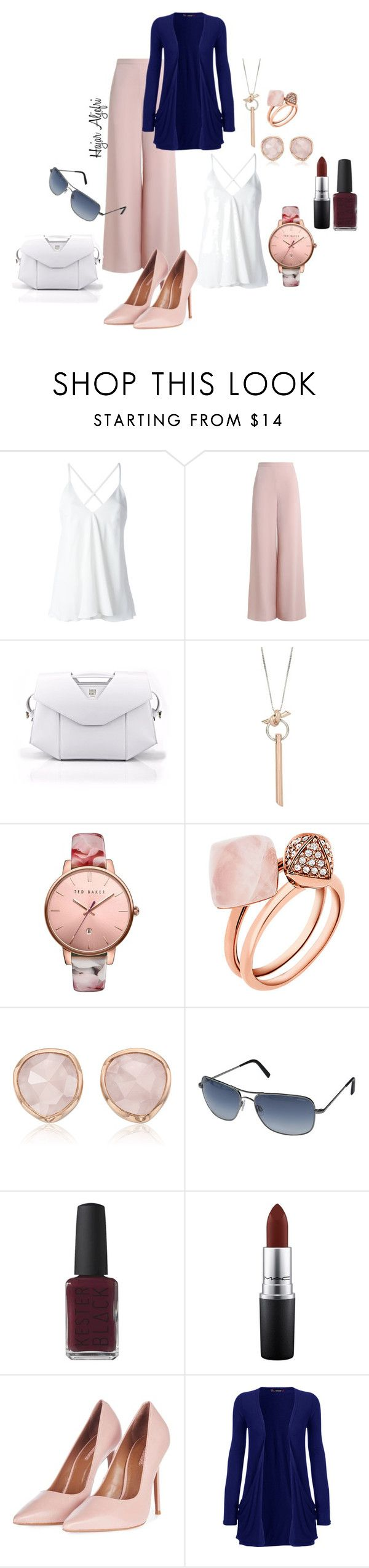 """""""Fashion"""" by hajar-111 on Polyvore featuring Dondup, Zimmermann, Kenneth Cole, Ted Baker, Michael Kors, Monica Vinader, Randolph, MAC Cosmetics, Topshop and WearAll"""