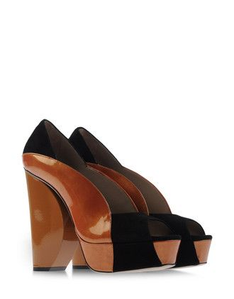 Open toes - CALVIN KLEIN COLLECTION Automne-Hiver 2012