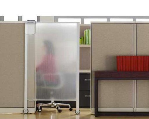 Keep your privacy via sliding door! #bestcubicles. how about a sliding door for each one?