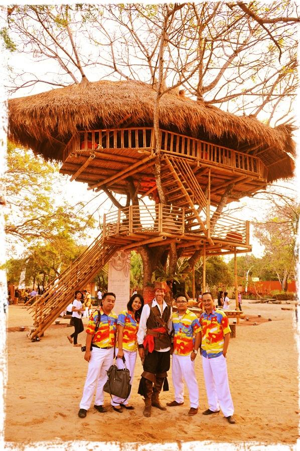 Tree House - The Pirates Bay . Nusa Dua-Bali I Caldera Dewata.