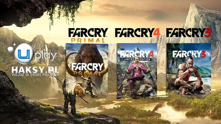 Far Cry Primal konto Uplay pochodzi z naszej prywatnej bazy. Na koncie Uplay znajdziecie także gry Far Cry 4 oraz Far Cry 3. Konto Uplay