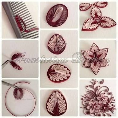 Tuto Image Fformes Quilling Paperolle Google Search Quilling