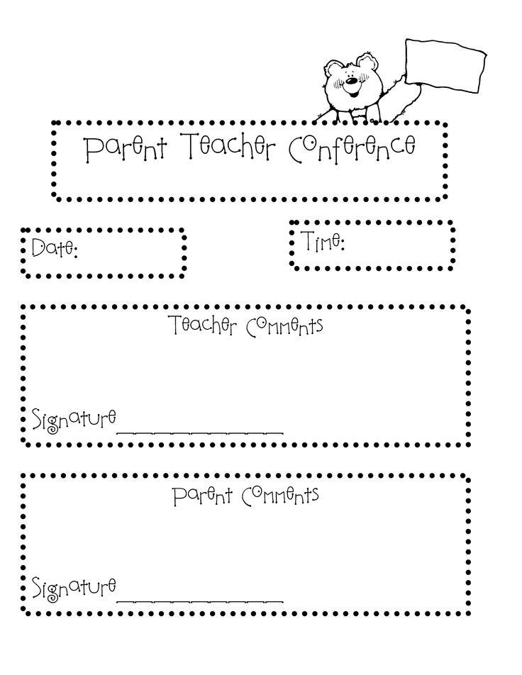 117 best images about parent  teacher conference ideas on