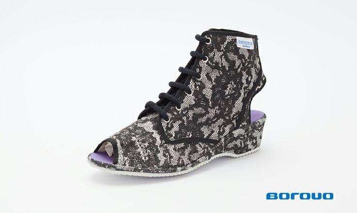 #Borosana Romantic Black // Size: 35 - 42