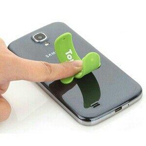 Aksesoris hp | Touch U - Universal Stand HP  Touch-U berfungsi sebagai stand holder handphone yang praktis dan serbaguna. Touch-U akan mempermudah kegiatan mobile saat anda sedang malas menggenggam smartphone ditangan. Cukup tempel dan tekan Touch-U kapanpun dan dimanapun.  Ready warna  Biru muda,orange,hijau dan kuning  ( warna kombinasikan atau sertakan cadangan )  Telp/sms : 081297419397 Pin : 2A4825F1  terimakasih