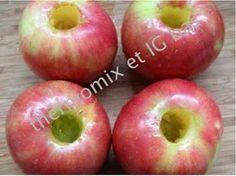 thermomix et IG bas: Les délicieuses pommes au Varoma