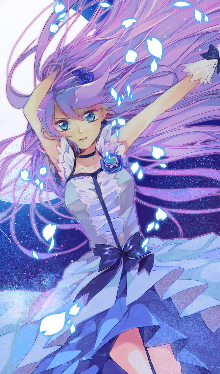 Smile Pretty Cure! --- I may never watch this show...xD; Love the fan art though!:)