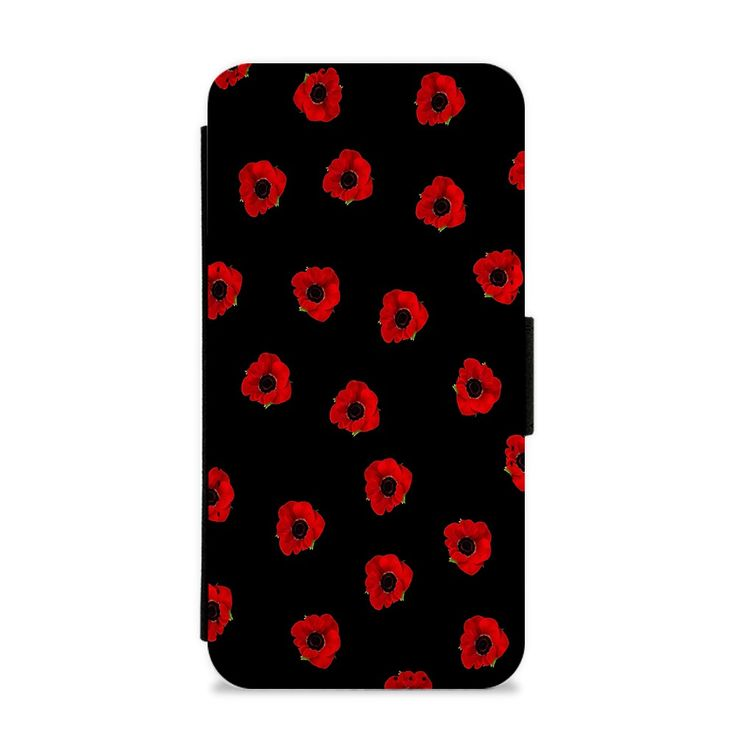 Our Poppy Pattern Flip / Wallet Phone Case is available online now for just £9.99.    In honour of Rememberance Sunday, £1 from every sale of this poppy pattern wallet phone case will go to The Poppy Appeal.    Weight: 28g, Material: Polyester & Plastic, Production Method: Printed, Thickness: 15mm, Colour Sides: Black, Compatible With: iPhone 4/4s | iPhone 5/5s/SE | iPhone 5c | iPhone 6/6s | iPhone 7 | iPhone 7+ | iPhone 8 | iPhone 8+ | Galaxy S4 | Galaxy S5 | Galaxy S6 | Galaxy S6 Edge…