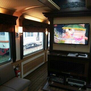 Ruang Penumpang Kereta Wisata Nusantara