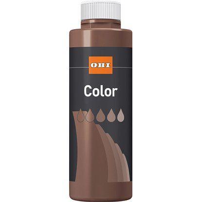 OBI Color  Voll- und Abtönfarbe Dunkelbraun matt 500 ml kaufen bei OBI