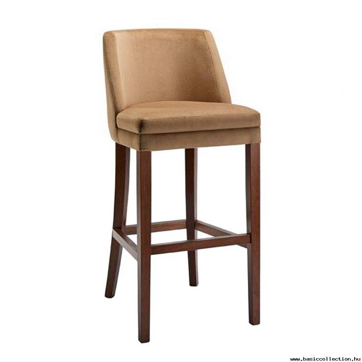 Senga barstool #basiccollection #barstool #upholstered #wooden