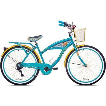 "26"" Women's Margaritaville Multi-Speed Cruiser Bike - Walmart.com"