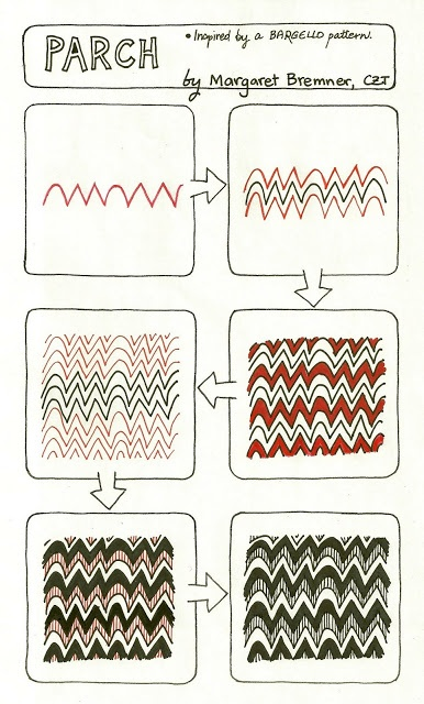 Enthusiastic Artist: PARCH tangle instructions