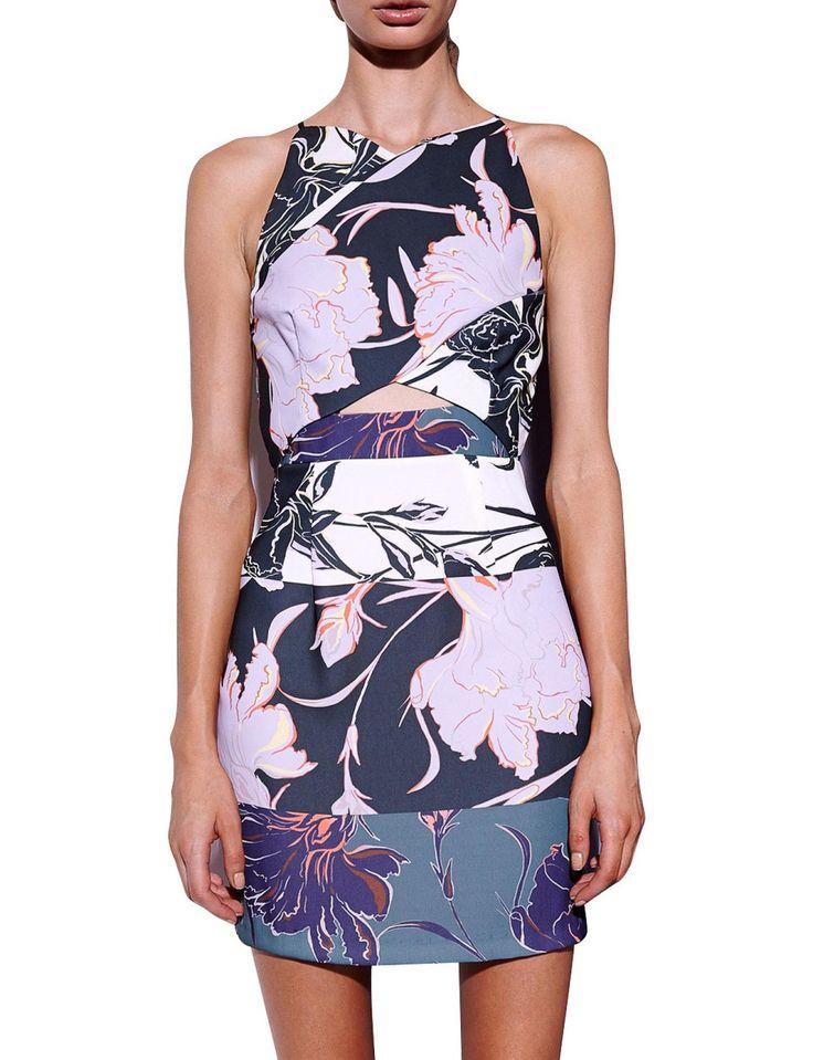 Gallery Cross Over Bodycon Dress | David Jones