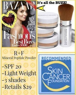 Like Bare Minerals, but BETTER! Rodan + Fields Mineral Peptides provide coverage…
