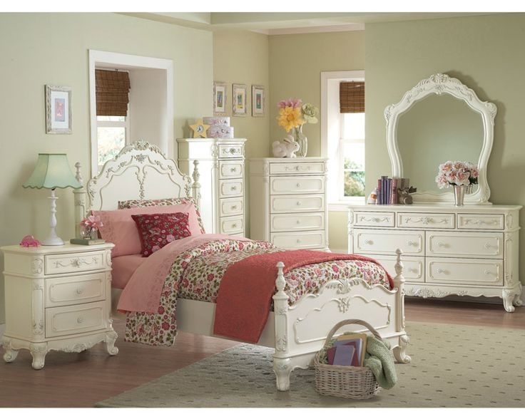 17 best ideas about white bedroom furniture sets on - White bedroom furniture for girl ...