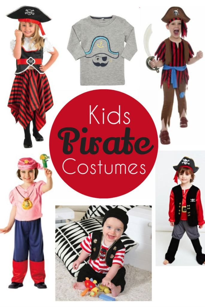 Pirate Costumes For Kids - In The Playroom