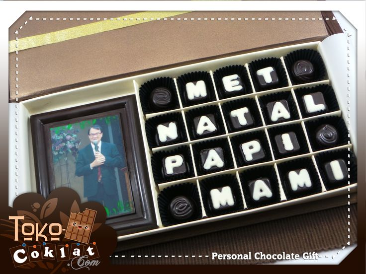 personal chocolate gift