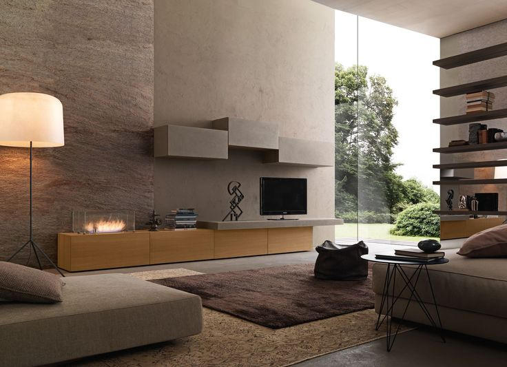 Presotto the ecological bioethanol burner recessed into the base unit with an optional tempered glass