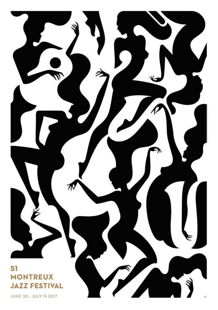 Das Montreux Jazz Festival, in diesem Jahr vom 30. Juni bis zum 15. Juli veranstaltet, gilt als eines der renommiertesten Musikfestivals der Welt. In dem von der französischen Illustratorin Malika Favre Carte gestalteten Plakat zur 51. Ausgabe gibt es viel zu entdecken.