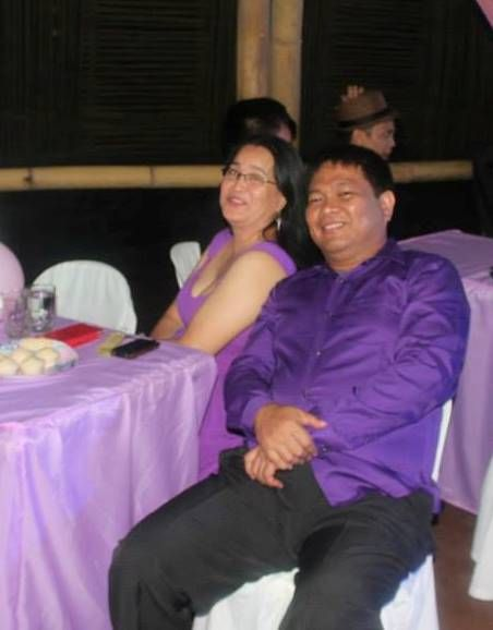 with the love of my life, my husband Buen.
