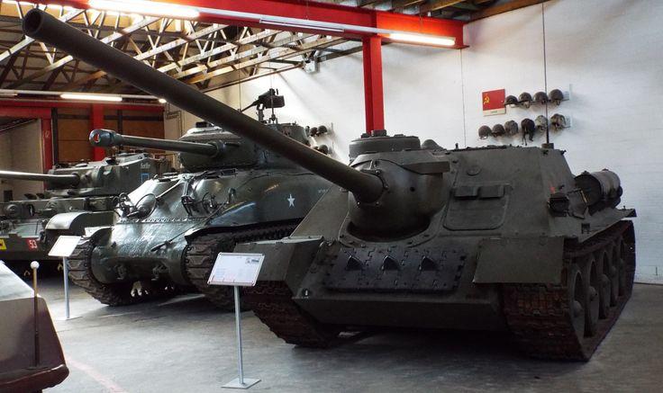 Soviet SU 100 Tank Destroyer 1944 Panzer Museum Munster