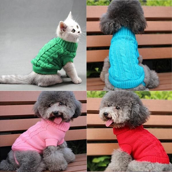 FREE Worldwide SHIPPING! $21.80NOW $15.80 Pet Stylish Knit Sweater This Stylish Knit Sweater is specifically designed to give your pet comfort and style in cold night and at all occasion especially during winter. It will keep you lovely pet warm and cosy. No more cold nights for your pet! #discountvault
