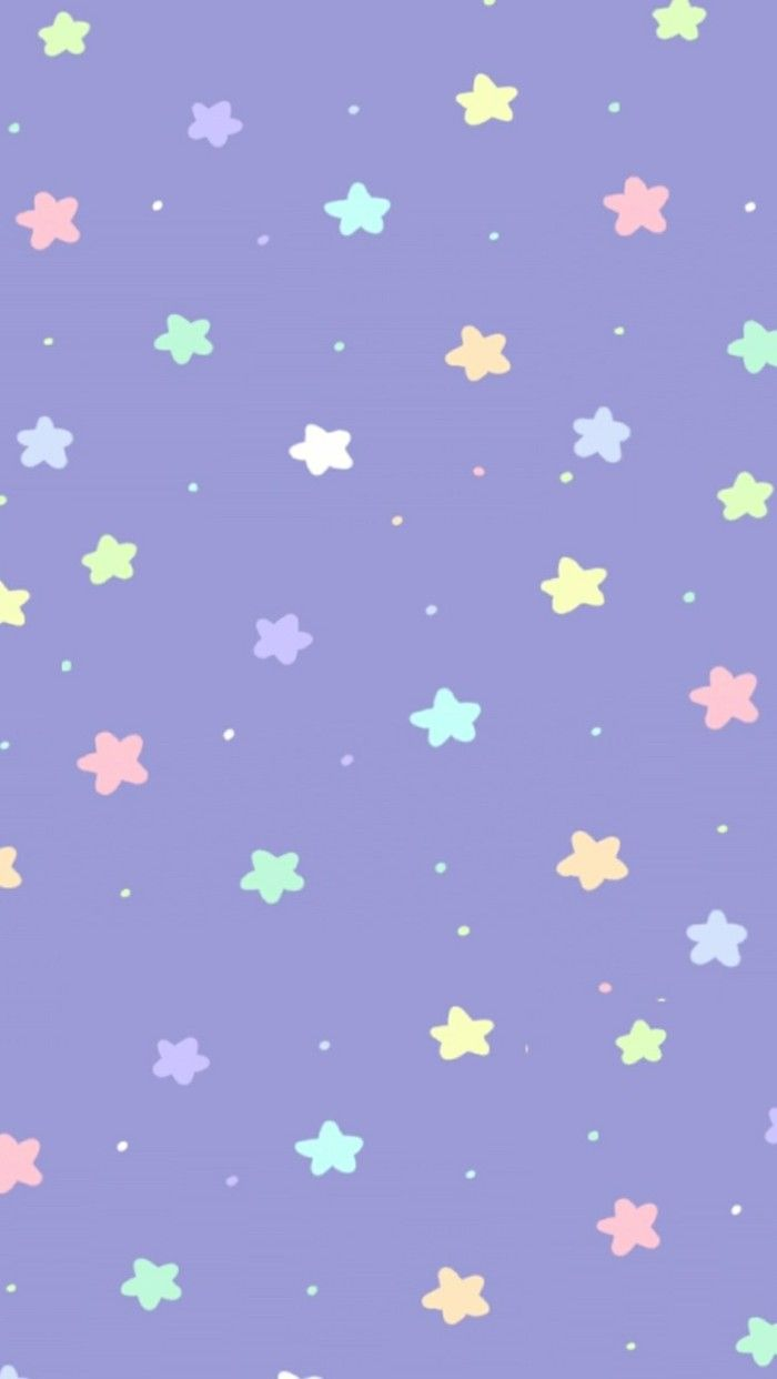 Pastels stars wallpaper