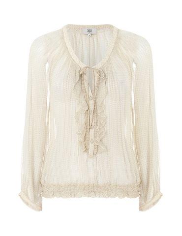 Printed chiffon blouse by Noa Noa