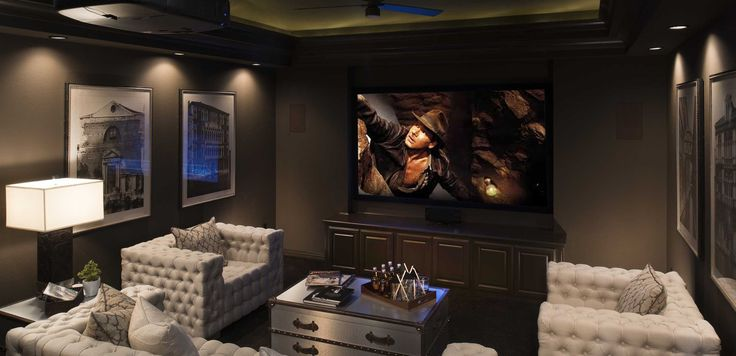 33 best images about media rooms on pinterest home for Homes for sale with theater room