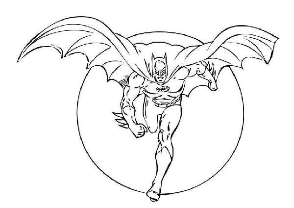 super villians coloring book pages - photo#34