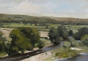 ruskins study 1 by Michael John Ashcroft in the FASO Daily Art Show