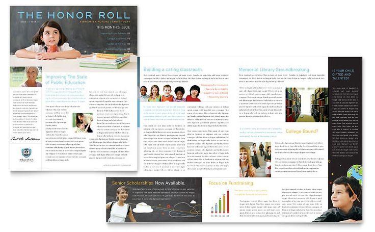 newsletter design ideas - Google Search | NRHH | Pinterest