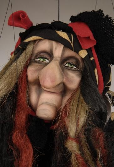 Witches in WitchCamp have  no wrinkles, but if you look like this, have no fear; J.J. will pull some strings and get you in.