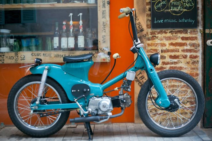 custom Honda Cub-want it!!