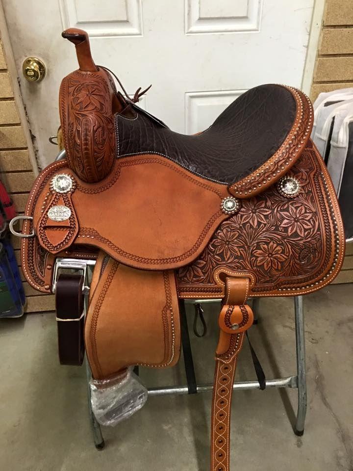 Martin Crown C Barrel Saddle