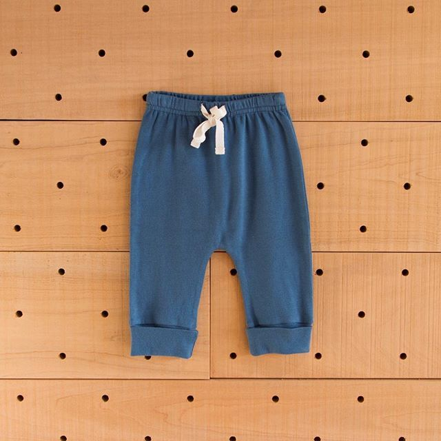 COMING SOON! Pre-order online now, our much loved organic cotton drawstring pants in the new Shadow blue xx #newarrivals #sneakpeek #comingsoon